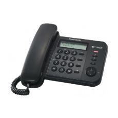 Ενσύρματο Τηλέφωνο Panasonic KX-TS560EX2B Μαύρο