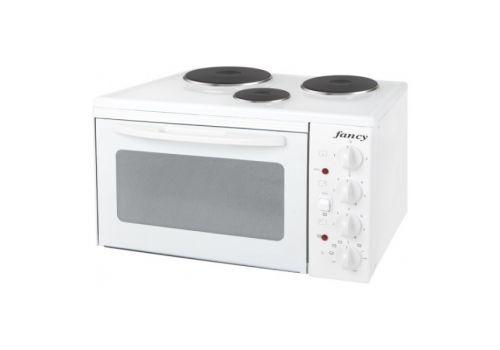 Κουζινάκι Ηλεκτρικό Fancy 0001 3 Εστιών Λευκό