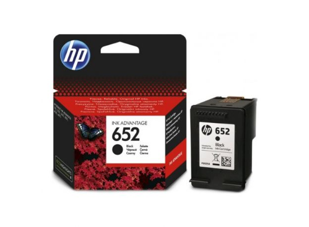 Μελάνι HP 652 Black F6V25AE