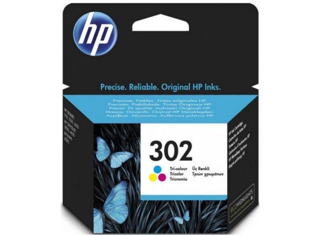 Μελάνι HP 302 Tri-Color F6U65AE